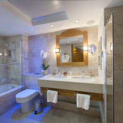 Olympic Lagoon Resort Paphos Fishermans Junior Suites Bathroom