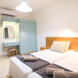 Debbie Xenia Hotel Apartments Bedroom